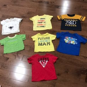 7 shirts for a 12 month old little man